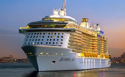 Royal Caribbean Anthem of the Seas cruise ship